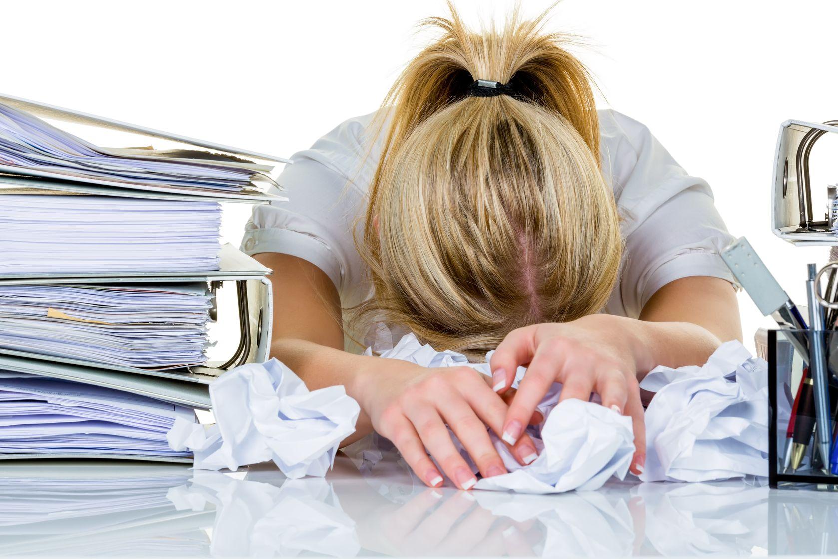 Stress of burn-out gerelateerde klachten?